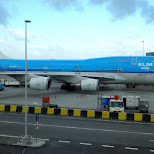 taking KLM to Asia... I wish in IJmuiden, Noord Holland, Netherlands