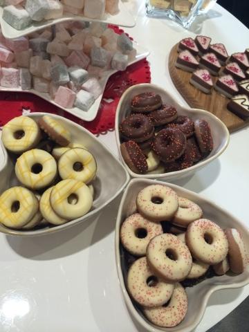 Mini Doughnuts - Little House Lovely - Festive Food