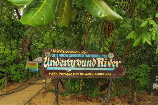 Welcome to the underground river of Philippines