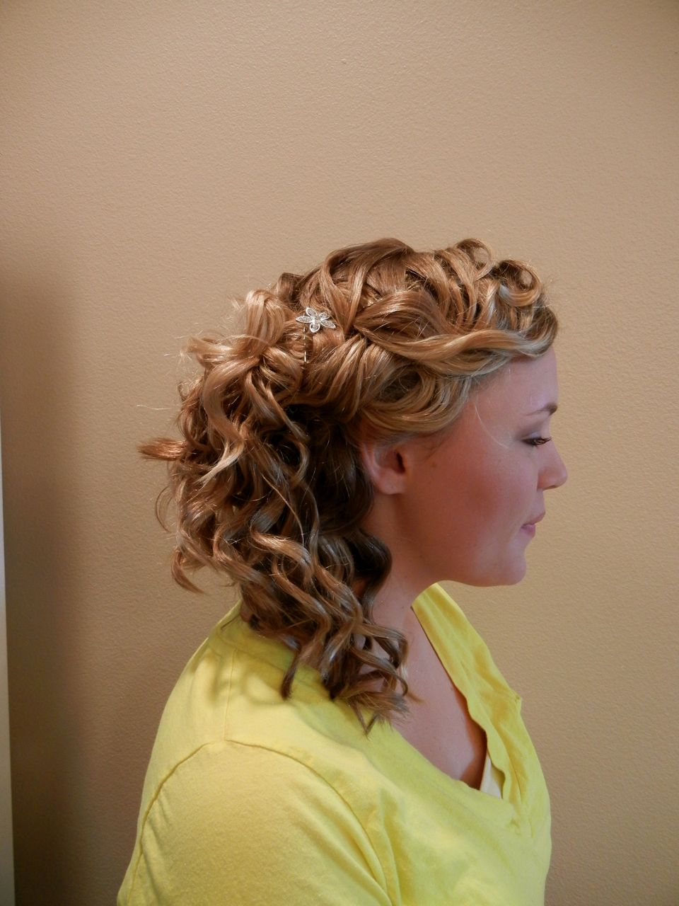 loose updos for wedding
