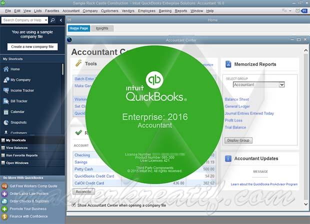 QuickBooks Enterprise 2016 Accountant