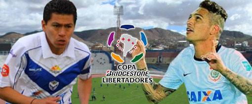 San José vs. Corinthians en Vivo - Copa Libertadores