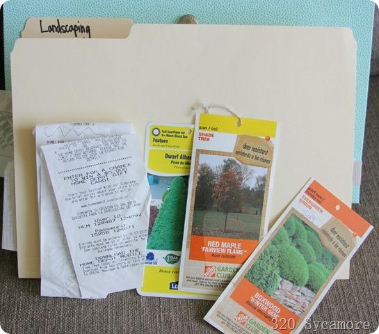 landscaping folder