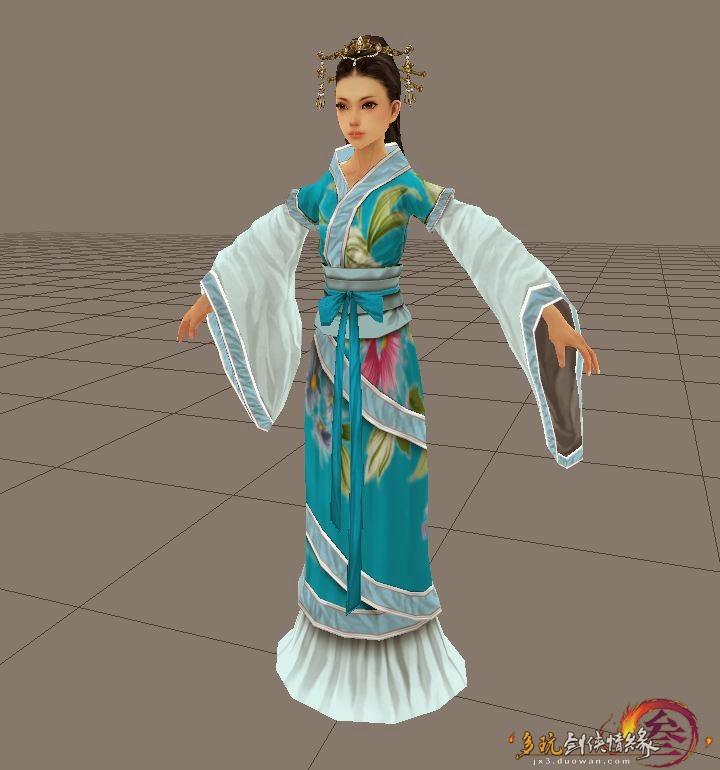 Bản thiết kế trang phục nữ trong Võ Lâm Truyền Kỳ 3