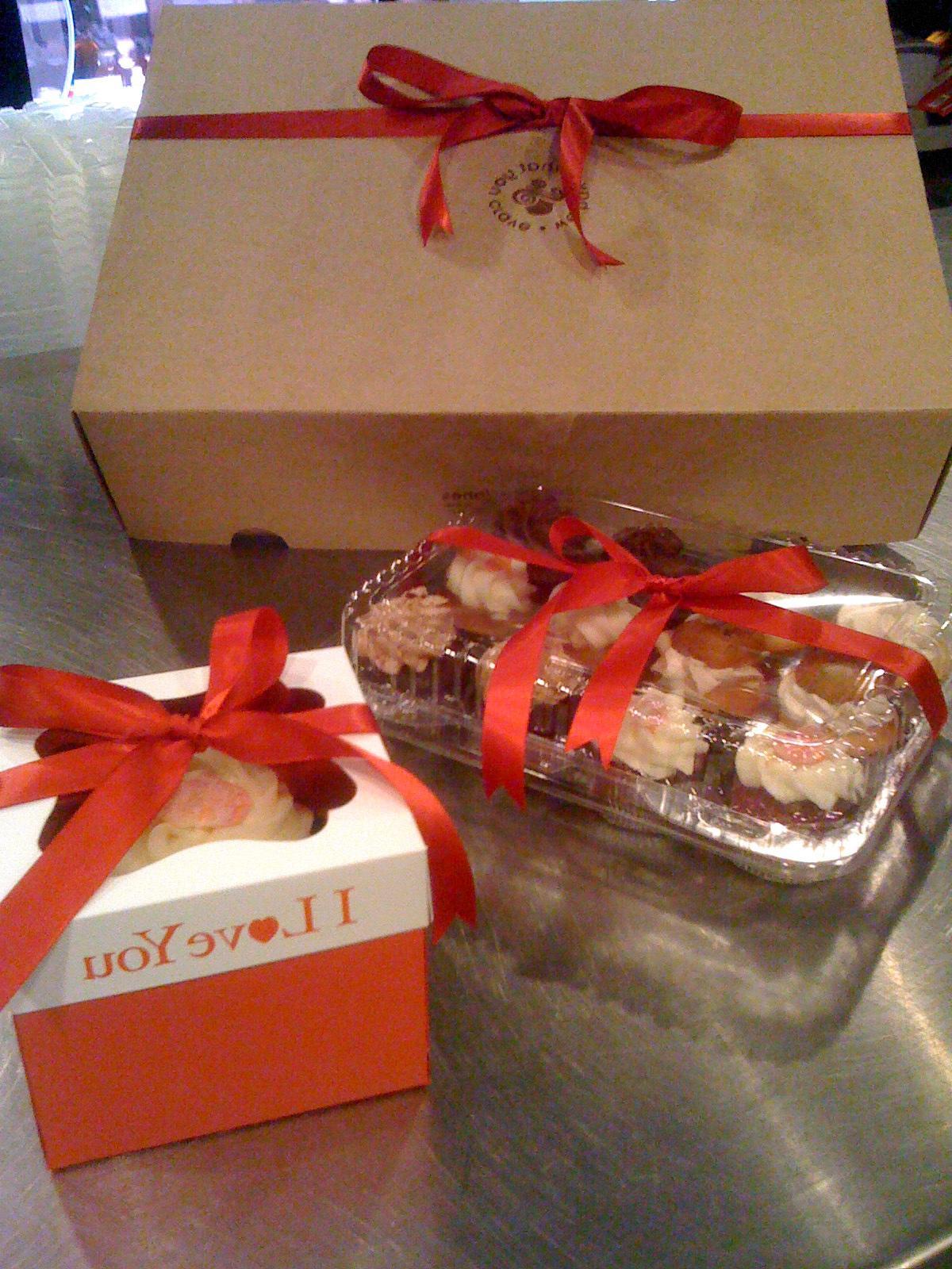 A Dozen Jumbo Filled Cupcakes