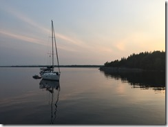 Middle Cove Sunset