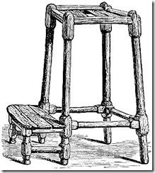 repentance stool from Old Greyfriars Edinburgh