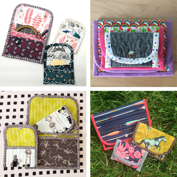 Pocket Party Pouch PDF Sewing Pattern!