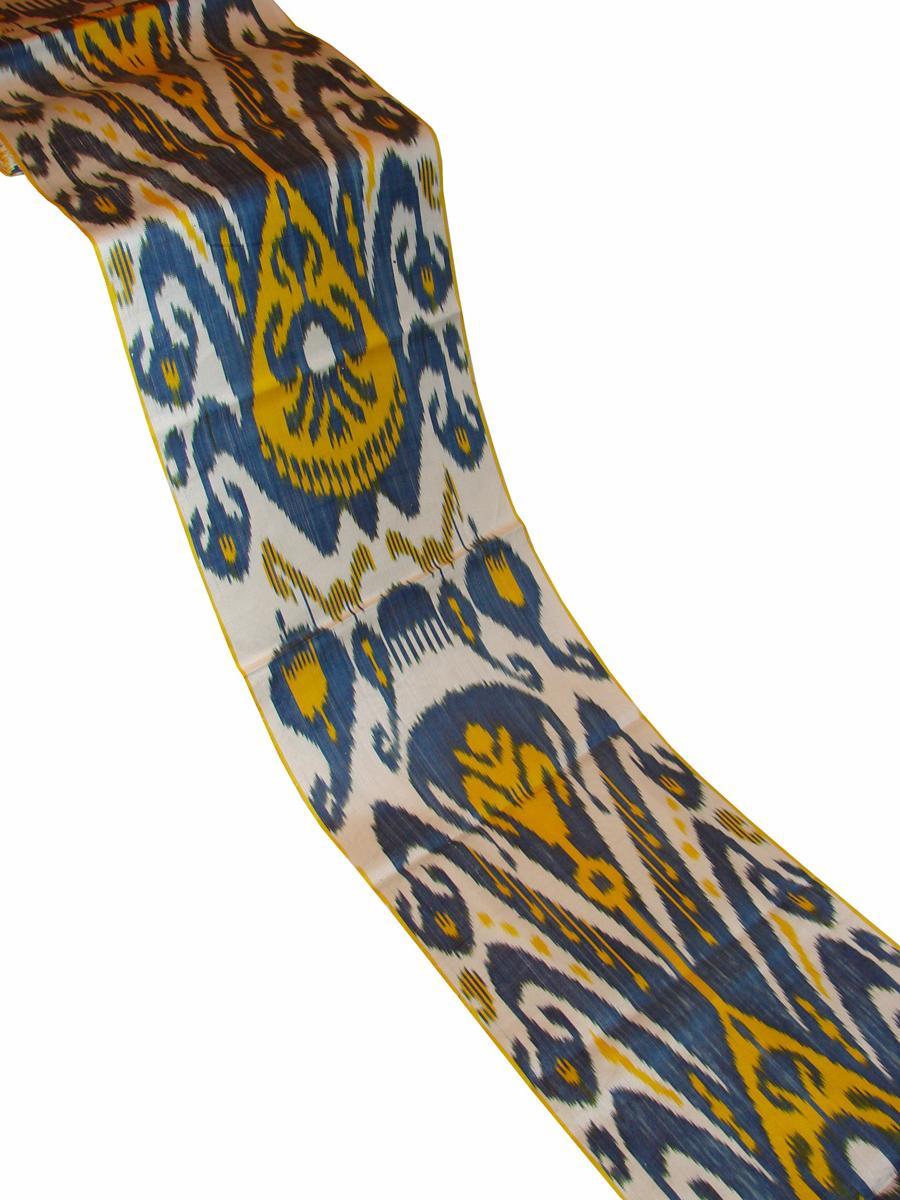 ikate blue yellow 728361 Ikat