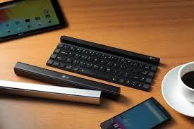 LG lance dévoile un clavier de poche qui s'enroule