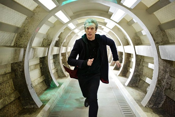Peter Capaldi is The Doctor in Under the Lake