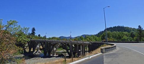 Myrtle Creek Arch Bridge