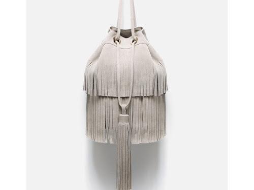 Bolso de flecos de Zara