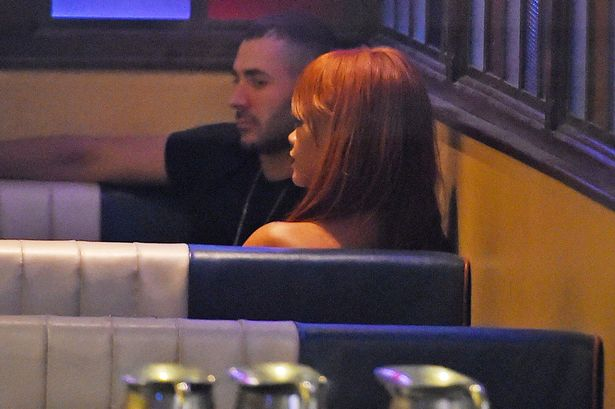 Rihanna And Karim Benzema Spotted Having Dinner At 5am.