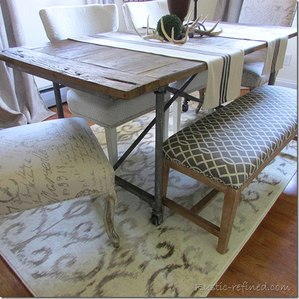 Summer Dining Room Tour with Farmhouse Dining Table Rustic Refined