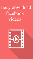 Screenshot of Video Download For Facebook