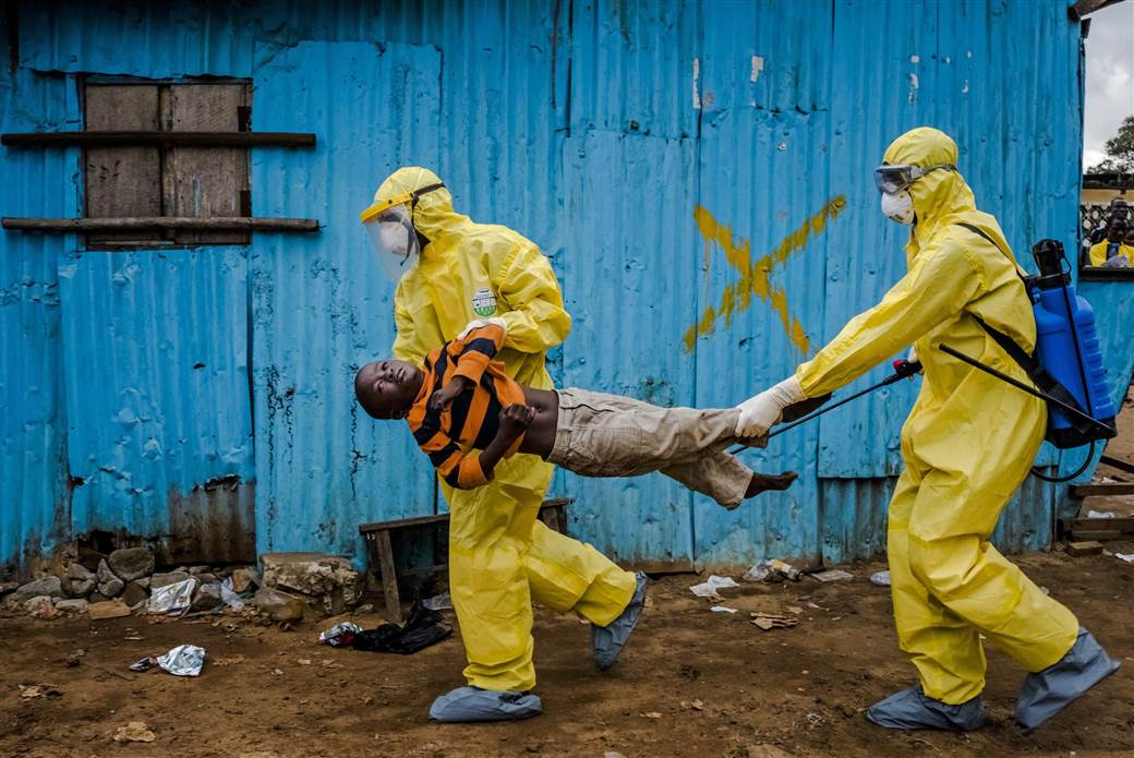 Image of A New Confirmed Case of Ebola in Liberia
