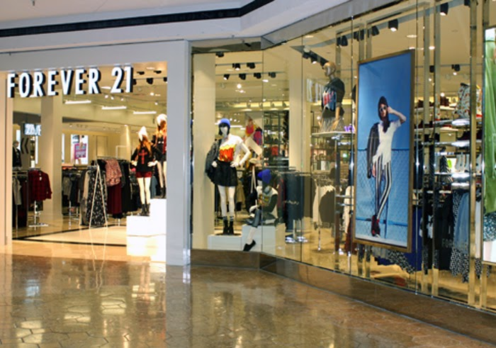 Forever 21 at Shopping Malls Store Locations at Malls for Trendy fashions & accessories in California. Shopping malls in other states Mall stores by name/brand Mall stores by category Special offers & deals Mobile version of this page. Share: Email to a friend. Tweet.
