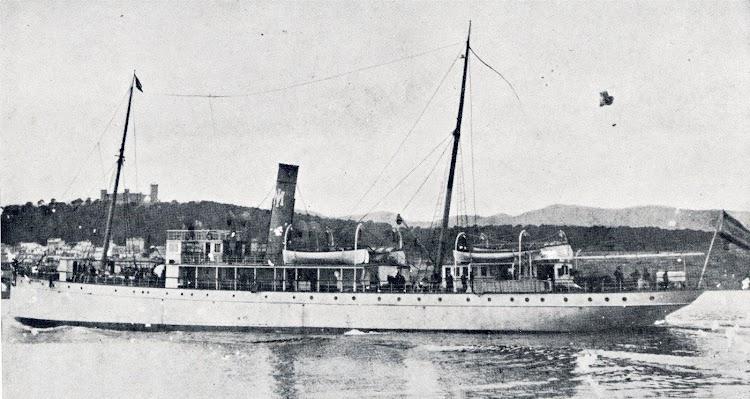 El tercer MALLORCA, que naufrago en las costas de Ibiza el 17 de Enero de 1913. Del libro La Marina en las Baleares.jpg