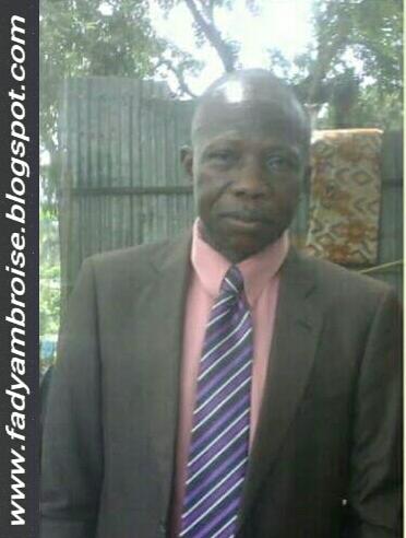 Décès du Rsb. TSHIMBOMBO MUKENDI