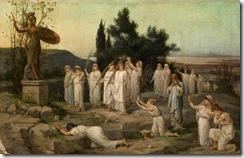 louis-hector-leroux-adoracion-de-la-diosa-palas-atenea-pintores-y-pinturas-juan-carlos-boveri