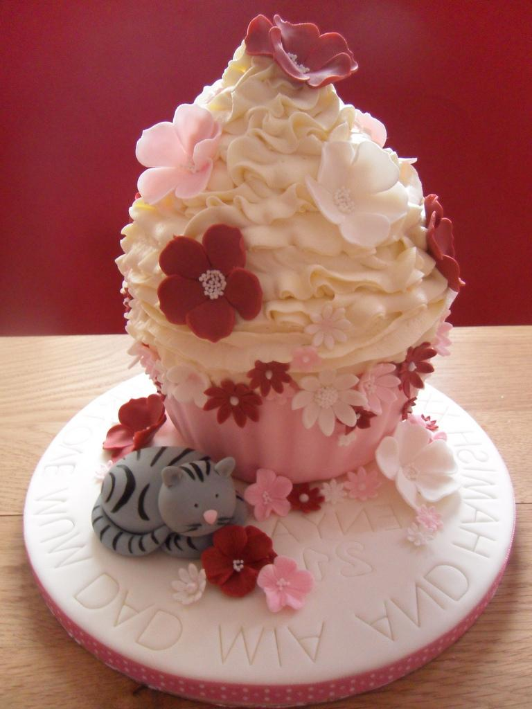 Cupcake Cake by Dulcie Blue