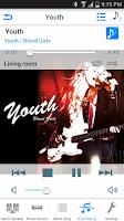 Screenshot of Panasonic Music Streaming
