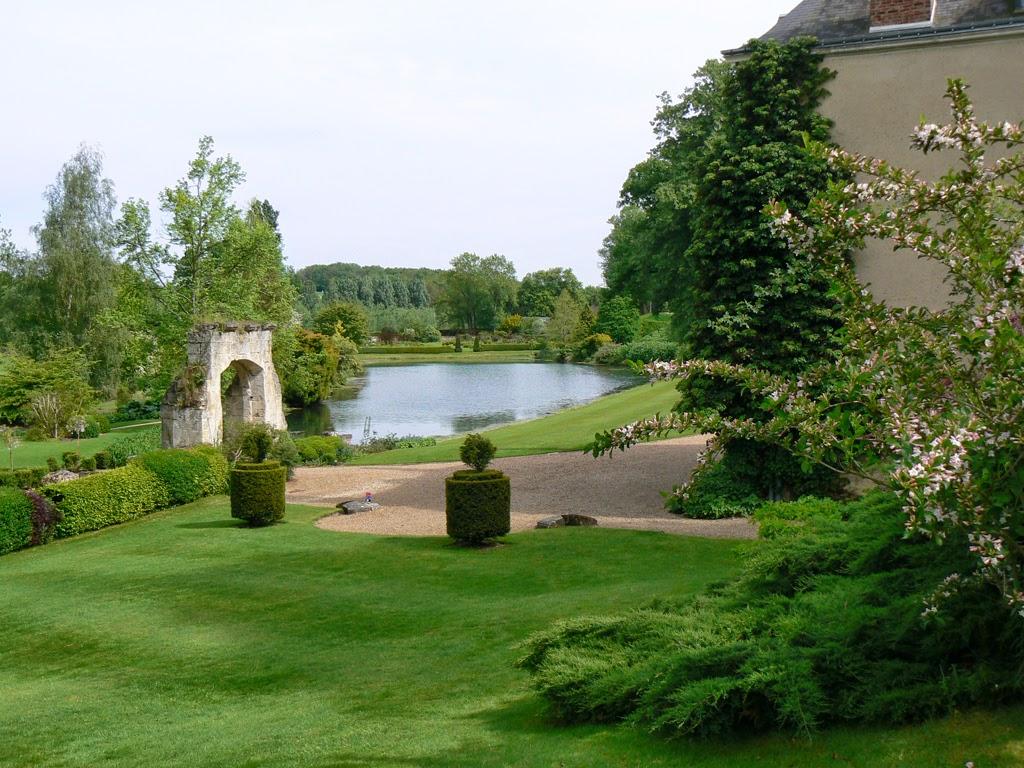 Jardin du plessis sasni res dans le loir et cher coeur for Avoir un beau jardin pas cher