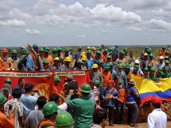 Ecopetrol criminaliza la protesta social