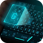 Hologram Star Tech Keyboard Theme Icon