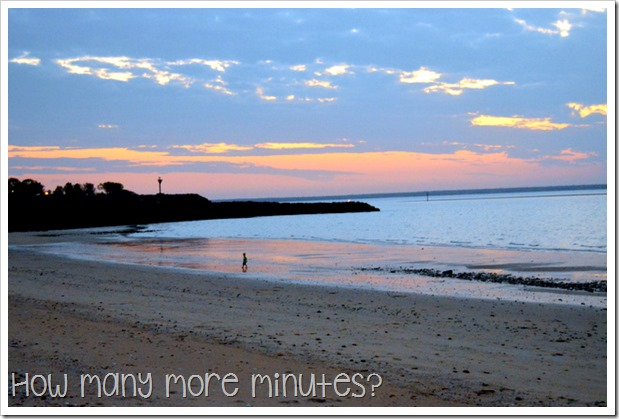 Sunset at Cullen Bay | How Many More Minutes?