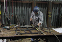 Carbon Steel Square Tubing Handrail Fabrication