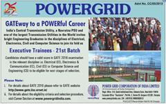 POWERGRID GATE 2016 indgovtjobs