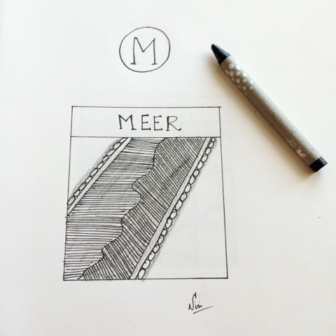 meer zentangle