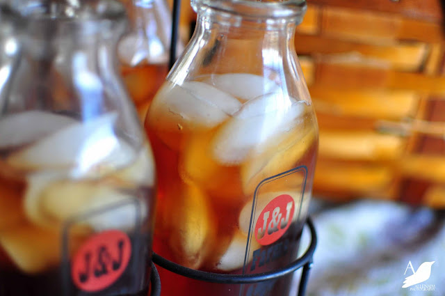 How to Make Sweet Tea with Amy Renea at A Nest for All Seasons