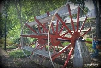 Old Paddle Wheel