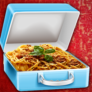 Download free cheese pasta school lunchbox for PC on Windows and Mac