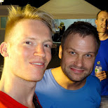 backstage with Dash Berlin at Ultra Japan 2015 in Tokyo, Tokyo, Japan