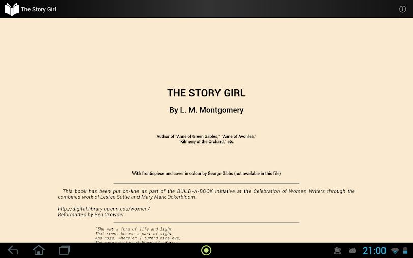 The Story Girl APK