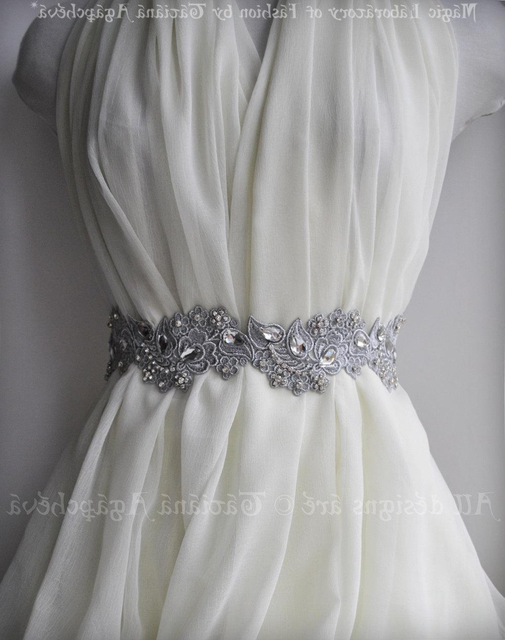 Bridal Luxury Sash  Belt,