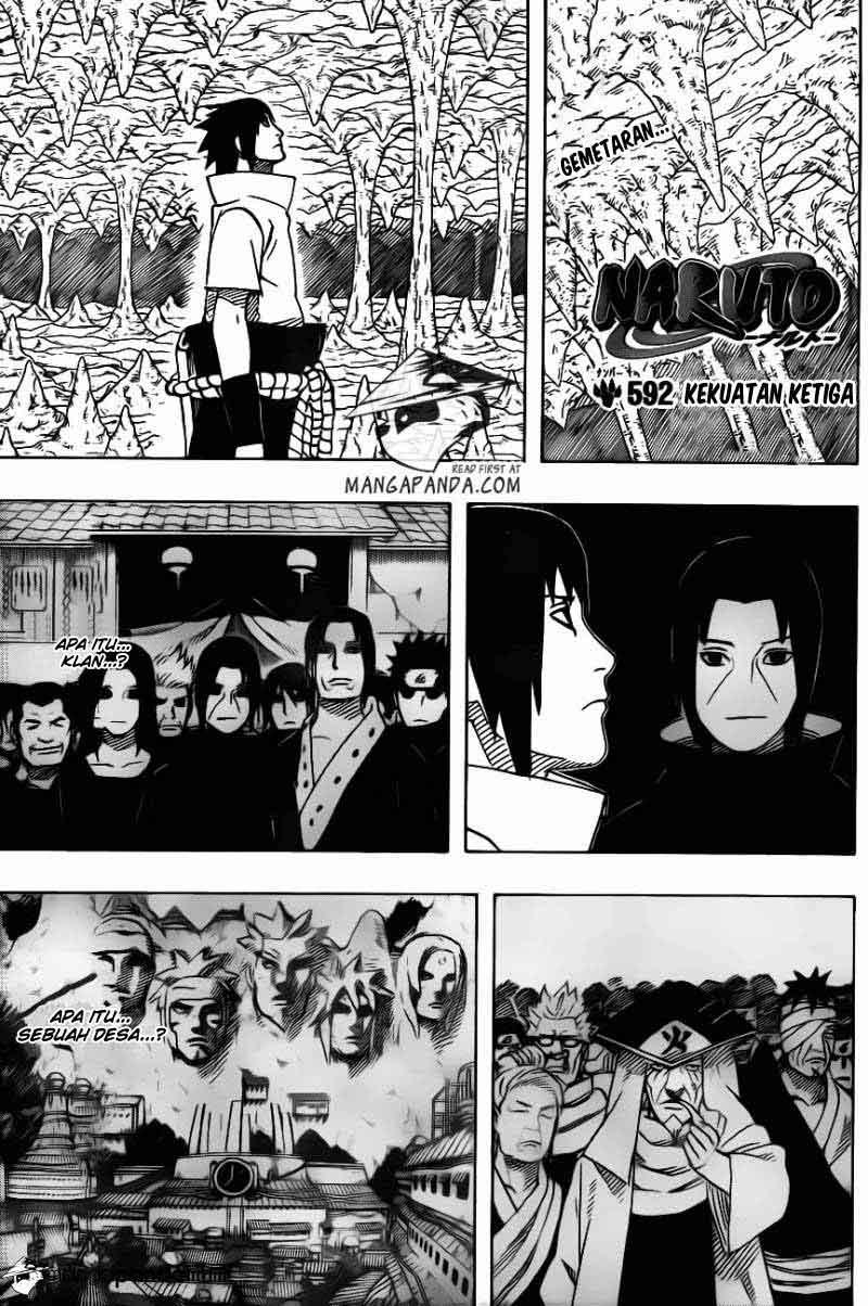 1 Naruto 592   Kekuatan Ketiga