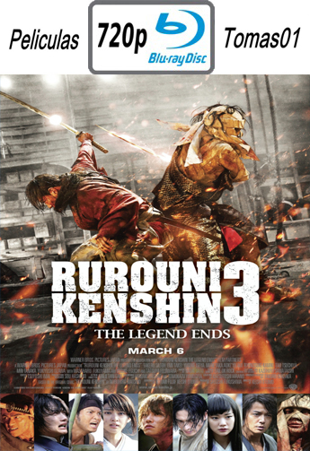 Rurouni Kenshin 3: La Leyenda Termina (2014) [BDRip m720p/Dual Castellano-Japones]