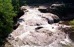 Swallow Falls, Swallow Falls State Park in Garrett County, Western Maryland.