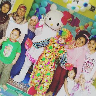 Hiburan badut kota Tangerang