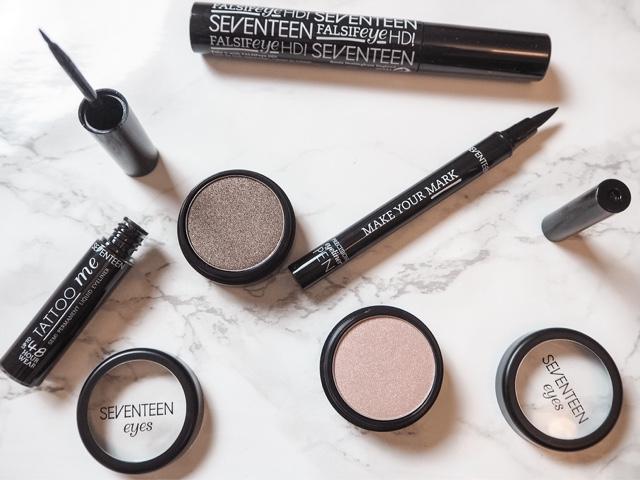 beauty-haul-january-sales-seventeen-falsifeye-hd-mascara-tattoo-me-eyeliner-make-your-mark-eyeliner