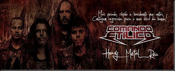 COMANDO ETILICO - Heavy Metal Réu