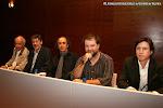 V-20: Mesa redonda: Wolf Moser, Carles Trepat, Vicente Roncero, Adrián Rius, biógrafo de Tárrega y el concertista Ignacio Rodes