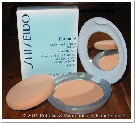 Shiseido Pureness Matifying Compact Foundation