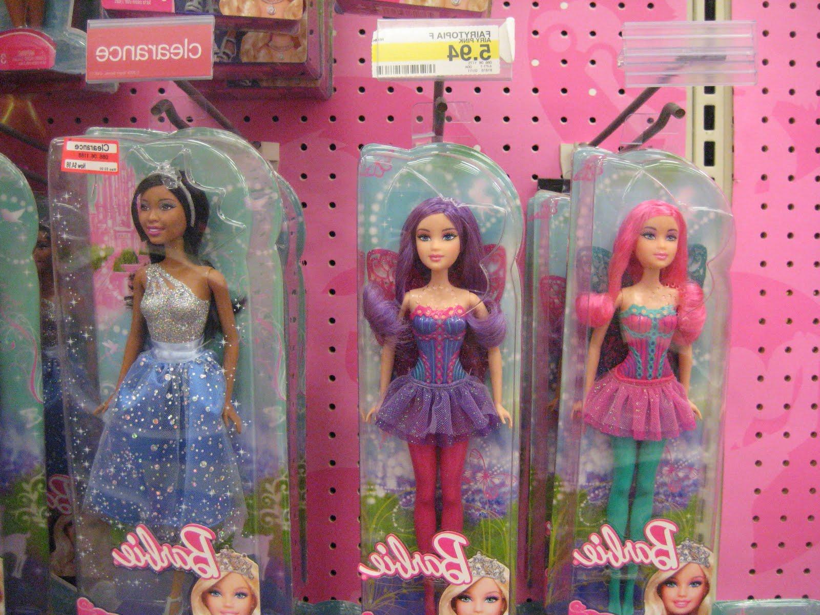 Fairy Barbie. Same story.