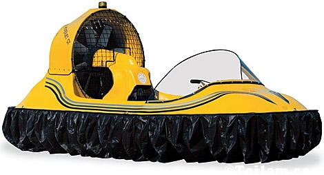 Một chiếc hovercraft